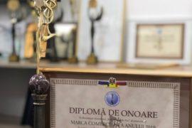 """""""Prograin Organic"""" S.R.L. a luat premiul mare: MERCURIUL DE AUR, la concursul național Marca Comercială a anului 2019, nominalizarea Contribuție importantă la dezvoltarea durabilă!"""